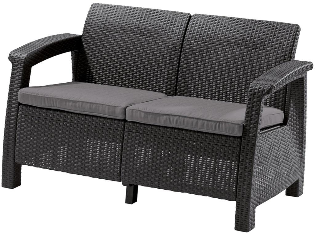 Набор Keter Corfu Love Seat Graphite