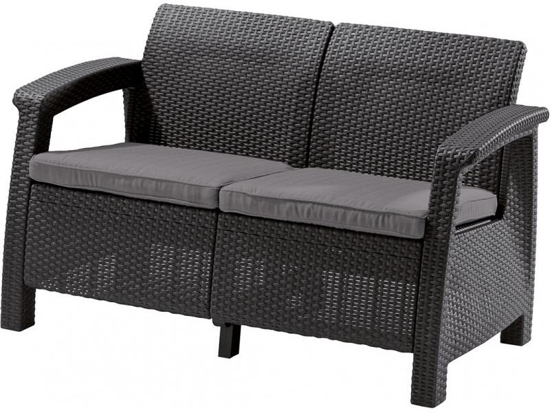 Набор Keter Corfu II Love Seat Graphite