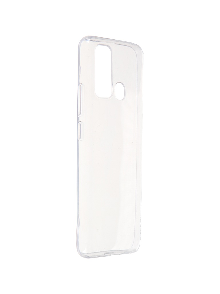 Чехол Krutoff для Vivo Y30 Clear 13060 смартфон vivo y30 64gb dazzle blue