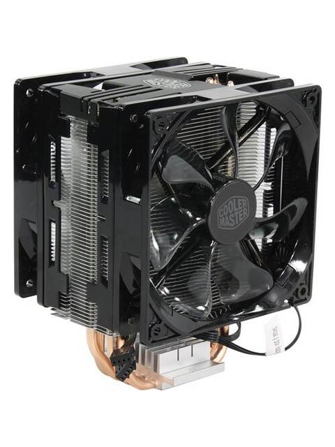 Кулер Cooler Master Hyper 212 LED Turbo RR-212TK-16PR-R1 кулер для процессора cooler master hyper 212 led turbo red top cover