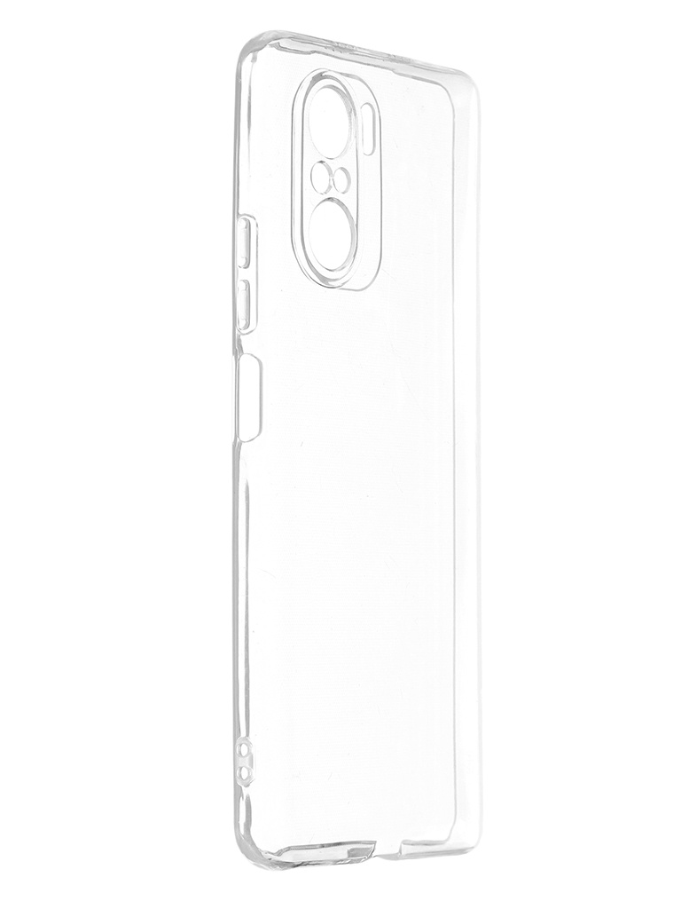 Чехол Zibelino для Poco F3 Ultra Thin Premium Quality Transparent ZUTCP-XIA-F3-TRN