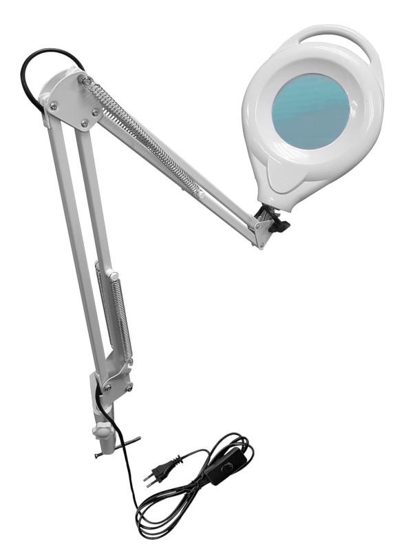 Фото - Лупа Kromatech 5x-100mm с подсветкой 120 LED на струбцине GF-500 23149b309 лупа bresser national geographic 2 5x 5x 88 мм led