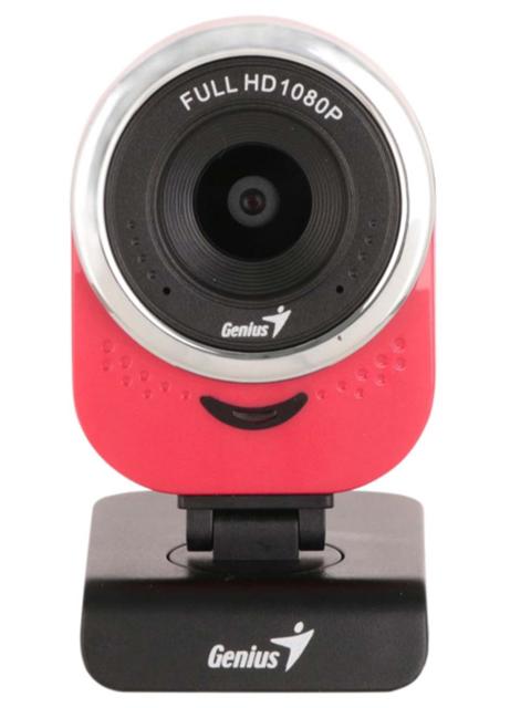 Фото - Вебкамера Genius QCam 6000 Red New Package нук пустышка genius латексная успокаивающая р 2