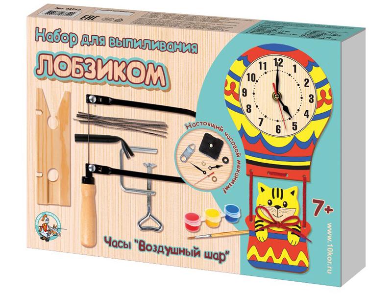 Набор Десятое Королевство Выпиливание лобзиком Часы Воздушный шар 03742