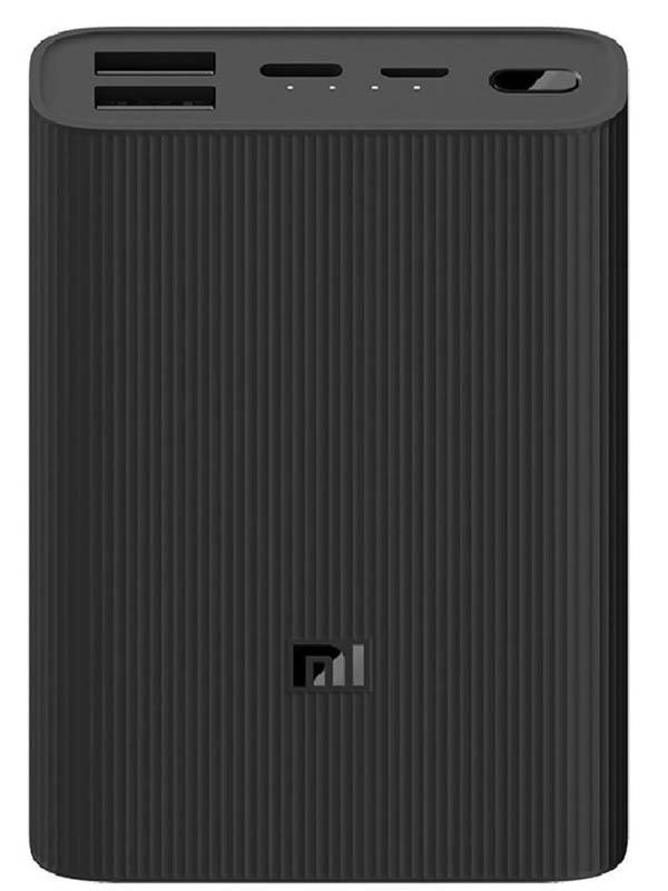 Внешний аккумулятор Xiaomi Mi Power Bank 3 Ultra Compact 10000mAh Black PB1022ZM