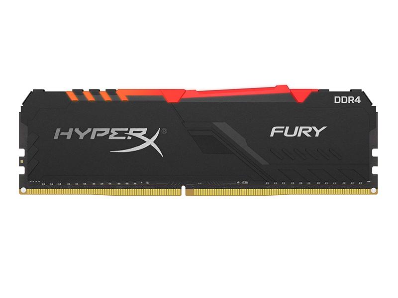 Модуль памяти HyperX Fury RGB DDR4 DIMM 2400MHz PC-19200 CL15 - 32Gb HX424C15FB3A/32