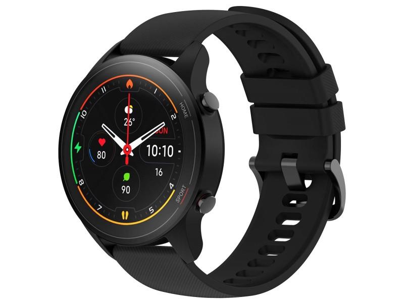 Умные часы Xiaomi Mi Watch Black BHR4550GL Выгодный набор + серт. 200Р!!! умные часы huawei watch gt 2e hector b19c 46mm black mint 55025294 выгодный набор серт 200р