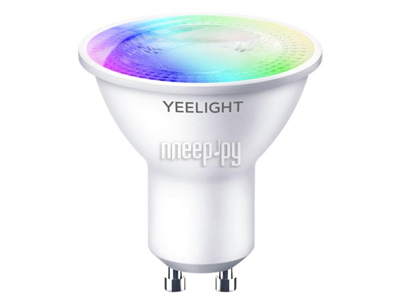 Лампочка Xiaomi Yeelight LED Smart Bulb Multicolor GU10 YLDP004-A лампочка xiaomi mi smart led bulb warm white gpx4026gl