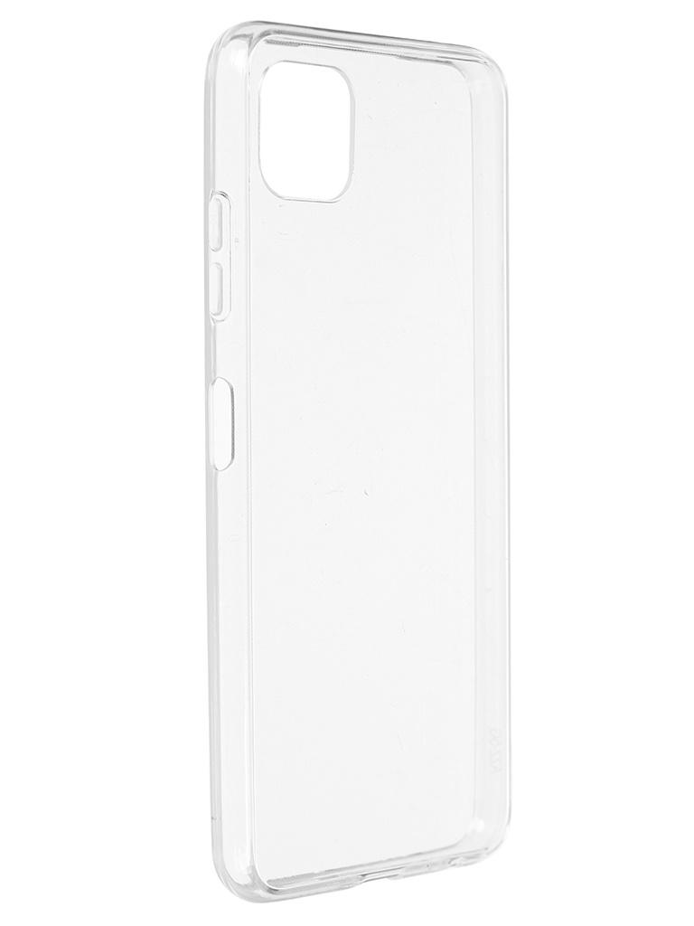 Чехол iBox для Samsung Galaxy A22s 5G Crystal Silicone Transparent УТ000026283 чехол ibox для samsung galaxy m21 crystal silicone transparent ут000021234
