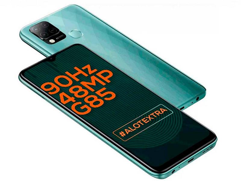 Сотовый телефон Infinix Hot 10S 4/64Gb Green