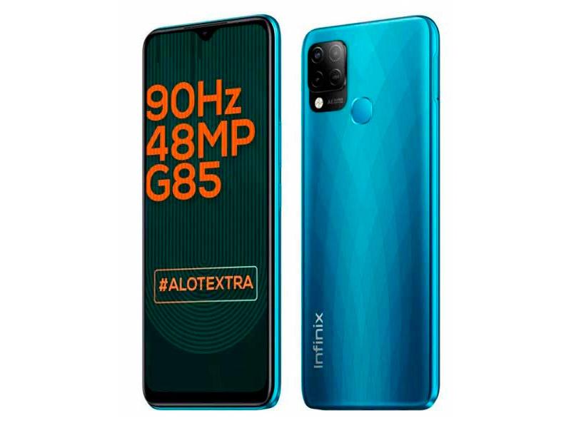 Сотовый телефон Infinix Hot 10S 4/128Gb Blue