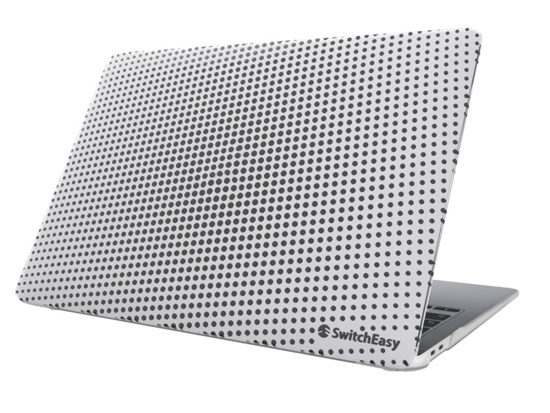 Аксессуар Защитная накладка SwitchEasy для APPLE MacBook Air 13 2020-2018 Dots Ice GS-105-24-218-157