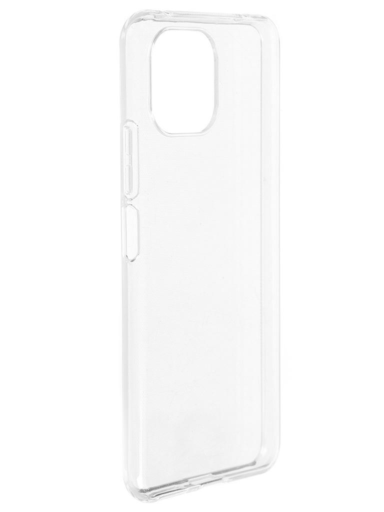Чехол Brosco для Xiaomi Mi 11 Lite TPU Transparent XM-MI11L-TPU-TRANSPARENT