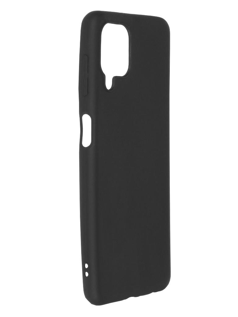 Чехол Brosco для Samsung Galaxy A22 Black Matte SS-A22-COLOURFUL-BLACK