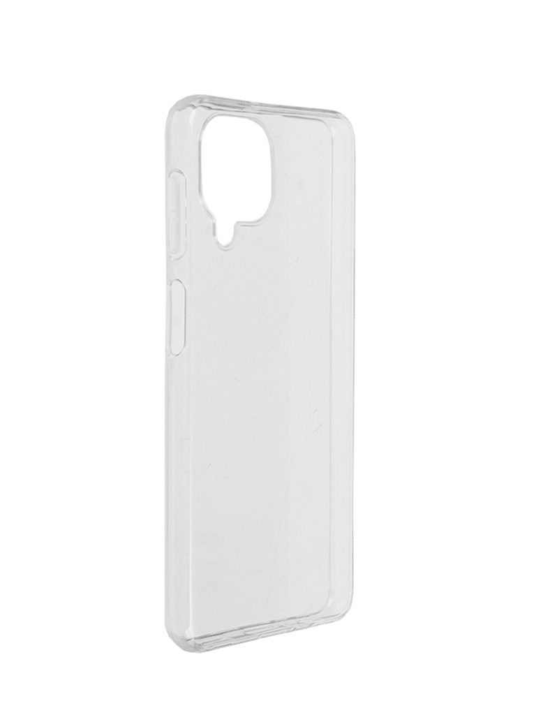 Чехол Brosco для Samsung Galaxy A22 Silicone Transparent SS-A22-TPU-TRANSPARENT