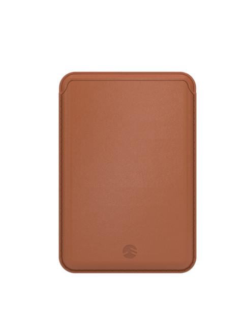 Чехол-бумажник SwitchEasy для APPLE iPhone 12 / Pro Max MagWallet Brown GS-103-168-229-146