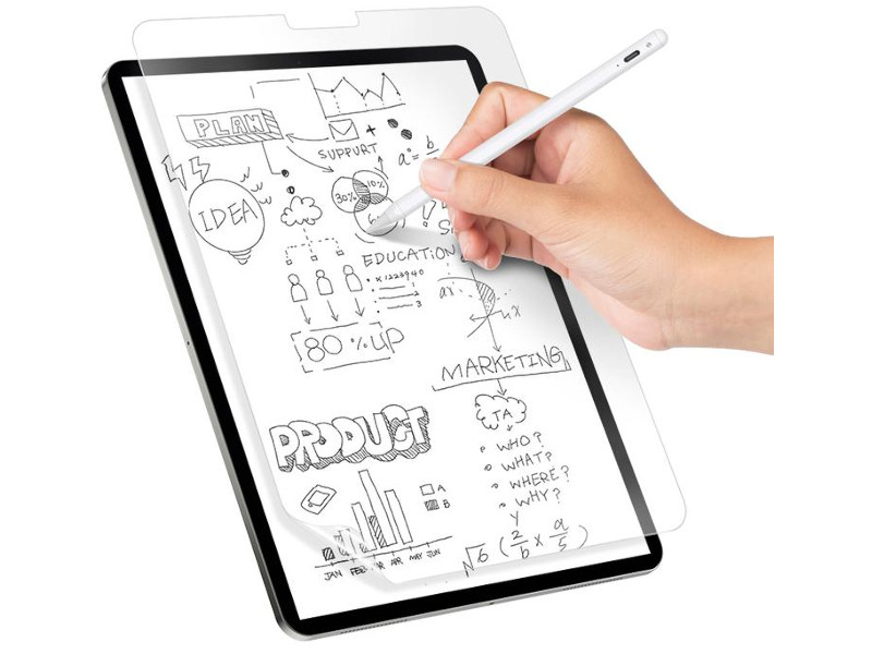 Накладка для рисования SwitchEasy APPLE iPad Pro 11 2021-2018 / Air 10.9 2020 Paperlike Note Transparent GS-109-173-241-65