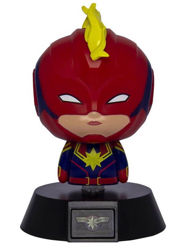 Светильник Paladone Captain Marvel Icon Light BDP PP6117CM