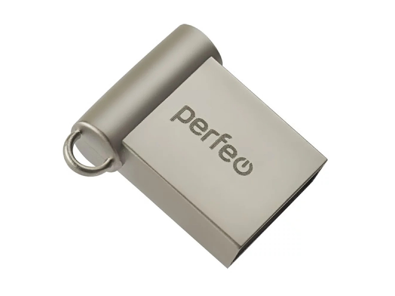 Фото - USB Flash Drive 128Gb - Perfeo M06 Metal Series + OTG Reader PF-M06MS128OTGR наушники perfeo base оранжевый pf bas org