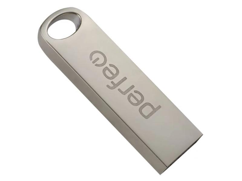 USB Flash Drive 256Gb - Perfeo M08 Metal Series PF-M08MS256 usb flash drive 32gb perfeo usb 3 0 c14 metal series silver pf c14s032es