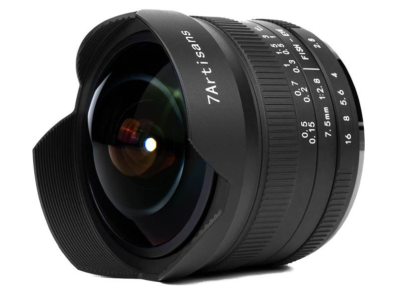 Фото - Объектив 7Artisans Nikon Z 7.5 mm f/2.8 II Fisheye 24234 объектив sony 16mm f 2 8 fisheye sal 16f28