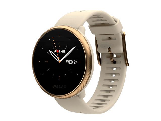 Часы Polar Ignite 2 S-L Champagne-Gold 90085185 умные часы polar ignite розовый золотой s