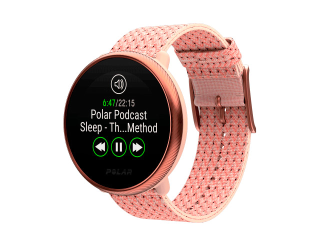 Часы Polar Ignite 2 S-M Pink-Rose 90085186 умные часы polar ignite розовый золотой s