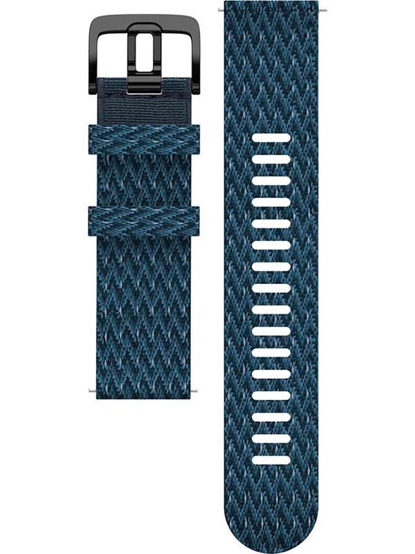 Аксессуар Ремешок для Polar Wrist Band Grit 22mm M-L PET Blue 91081741