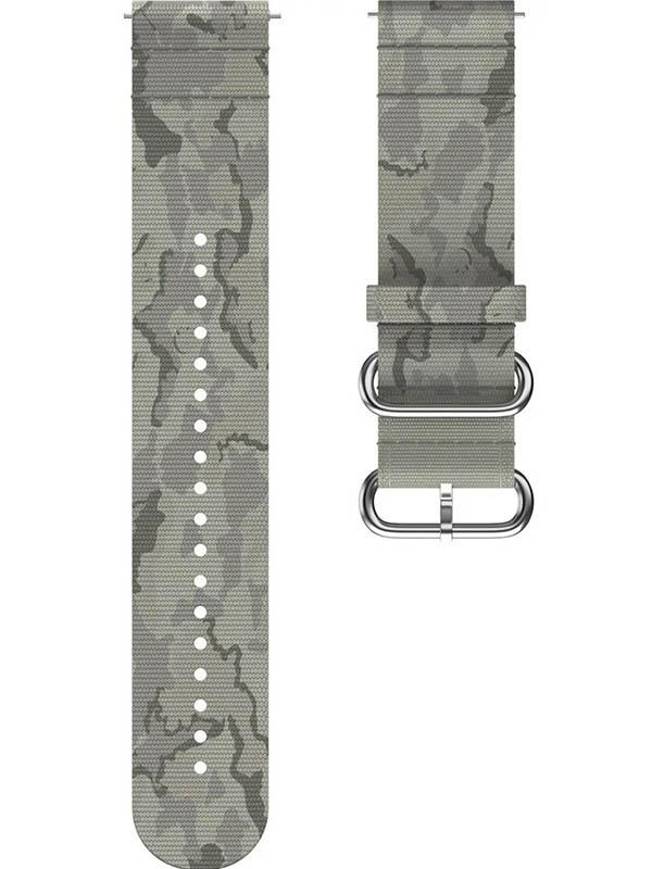 Аксессуар Ремешок для Polar Wrist Band Grit 22mm M-L PET Green Tundra 91081740