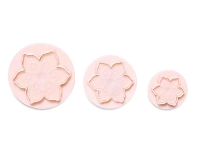 Набор формочек с печатью Dosh i Hom Vela Цветок 3шт 301316