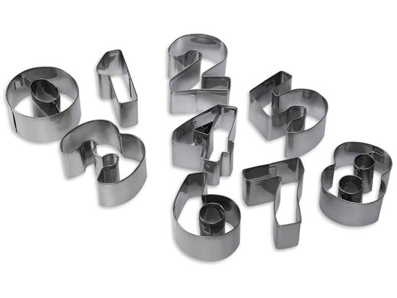 Набор формочек Dosh i Hom Vela Цифры 9шт 302012