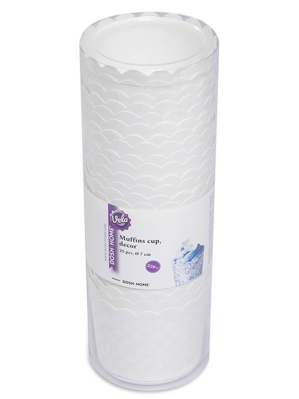 Форма для выпечки маффинов Dosh i Home Vela Орнамент 7cm 25шт 301218