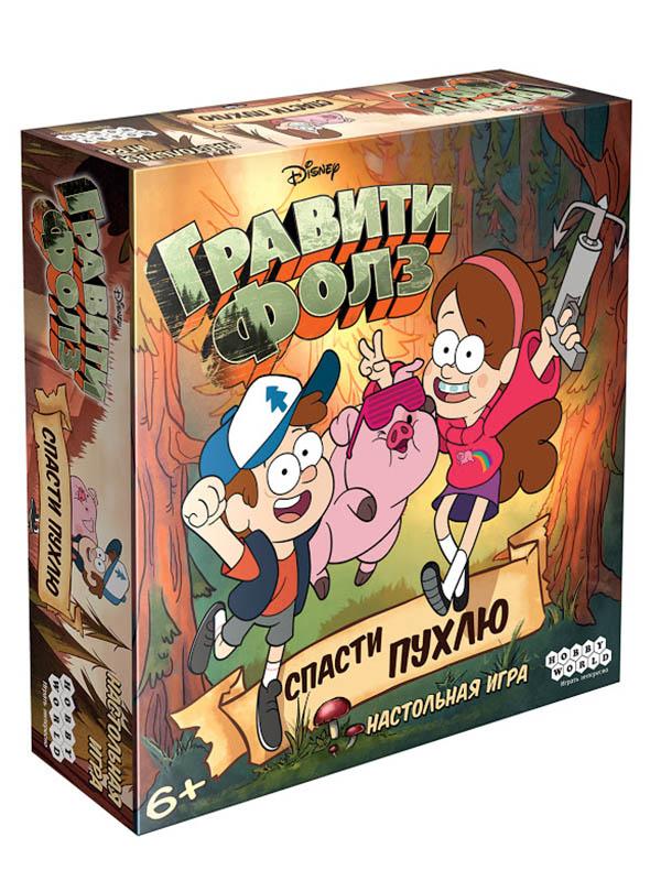 Настольная игра Hobby World Гравити Фолз Спасти Пухлю 915243