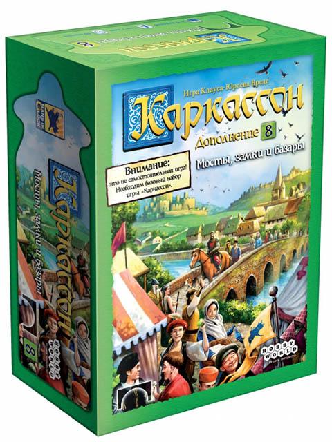 Настольная игра Hobby World Каркассон Мосты, замки и базары 915224