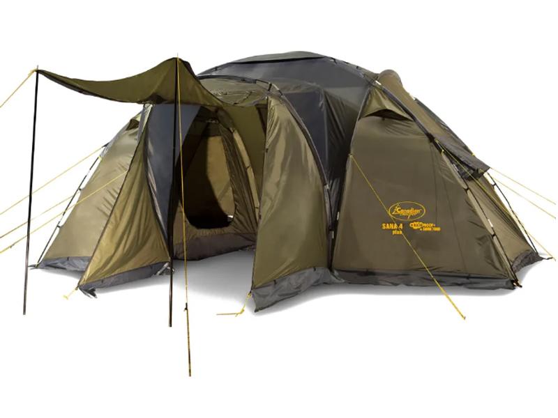 Фото - Палатка Canadian Camper Sana 4 Plus Forest 30400025 палатка canadian camper rino 3 цвет forest