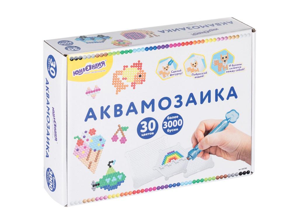 Набор для творчества Юнландия Аквамозаика 663780