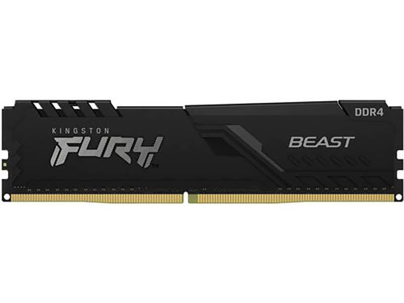 Модуль памяти Kingston Fury Black DDR DDR4 DIMM 2666Mhz PC21300 CL16 - 16Gb KF426C16BB1/16