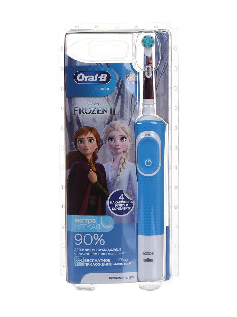 Зубная электрощетка Braun D100.413.2K Frozen