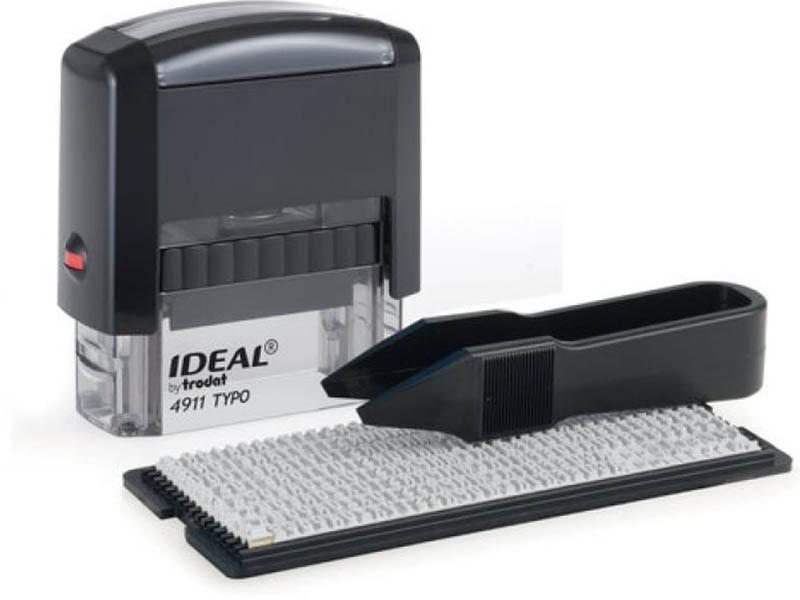 Штамп самонаборный Trodat Ideal 4911 P2 3-строчный 38x14mm 125426/168224