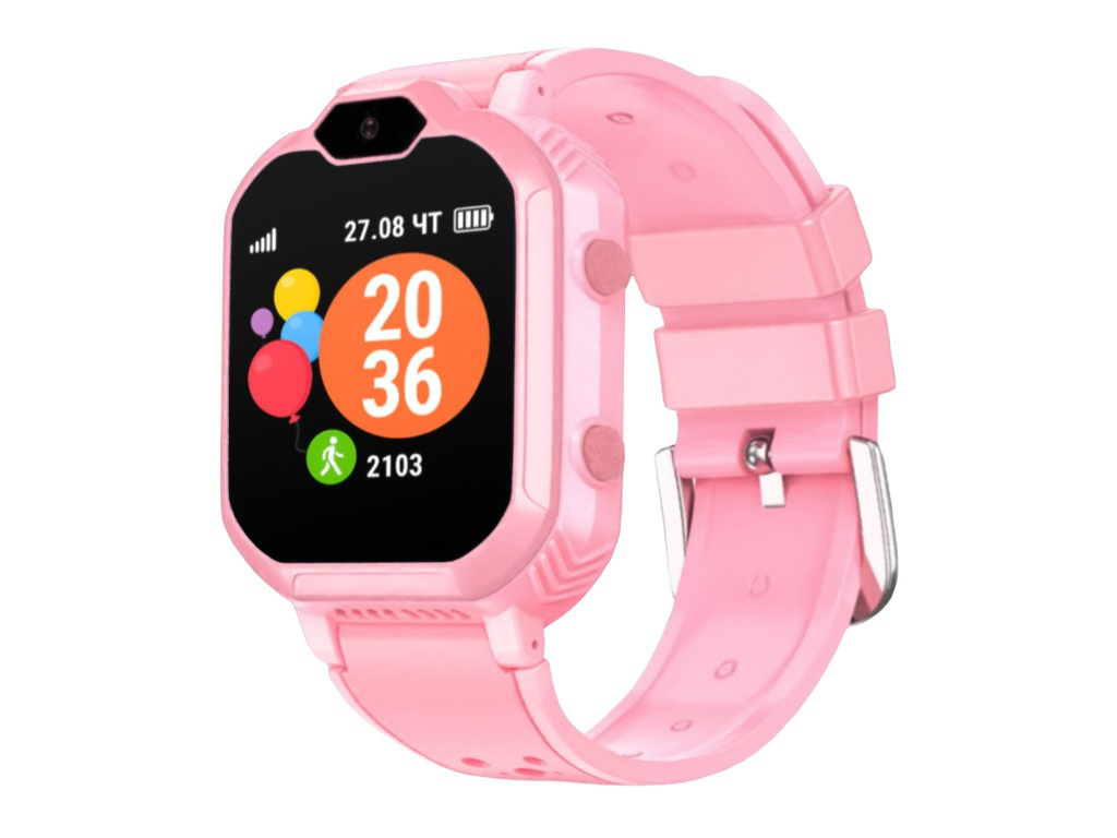 Фото - Geozon G-Kids 4G Pink G-W13PNK Выгодный набор + серт. 200Р!!! geozon g kids 4g plus red g w14red