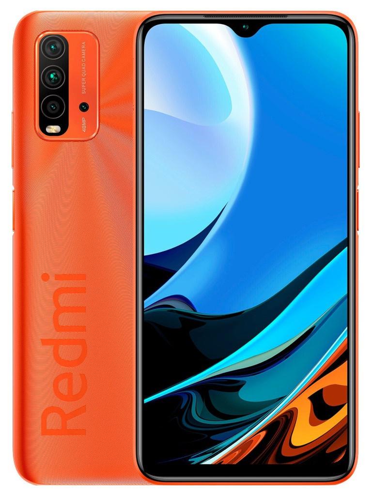 Сотовый телефон Xiaomi Redmi 9T 4/128Gb Orange Выгодный набор + серт. 200Р!!! сотовый телефон vsmart joy 3 4 64gb purple topaz