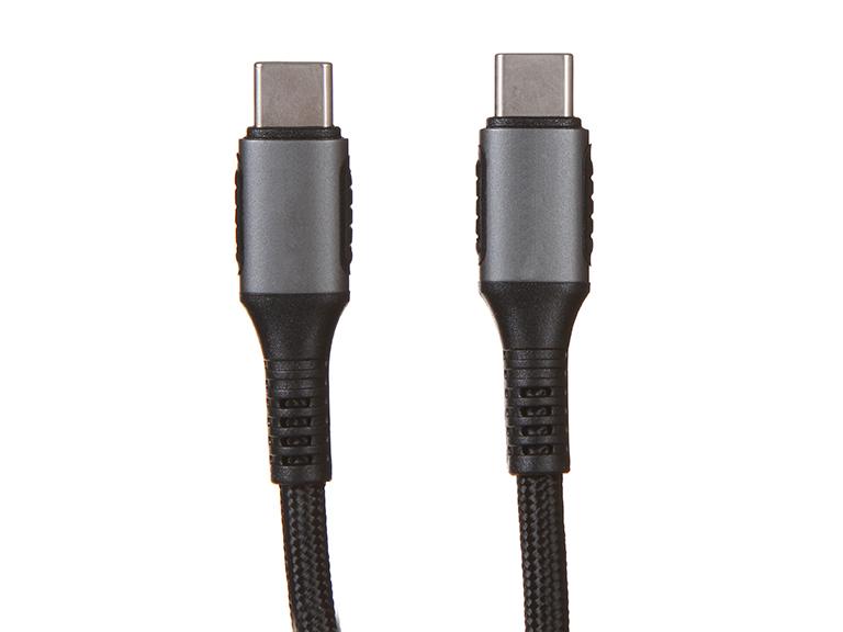 Фото - Аксессуар Earldom EC-103 USB Type-C - USB Type-C 2m Black аксессуар earldom ec 085m usb micro usb 25cm black