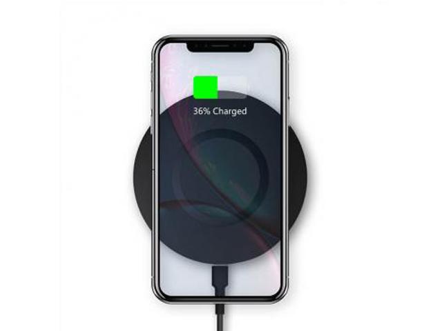 Зарядное устройство Wiwu M3 Wireless Charger Black 6973218932590