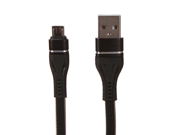 Фото - Аксессуар Earldom EC-084M USB - Micro USB 1m Black аксессуар earldom ec 085m usb micro usb 25cm black