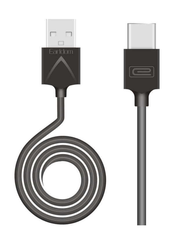 Фото - Аксессуар Earldom EC-066C USB - USB Type-C 1m Black аксессуар earldom ec 085m usb micro usb 25cm black