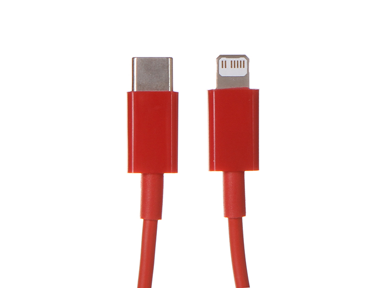 Аксессуар Baseus Superior Series Fast Charging Data Cable Type-C - Lightning PD 20W 1m Red CATLYS-A09