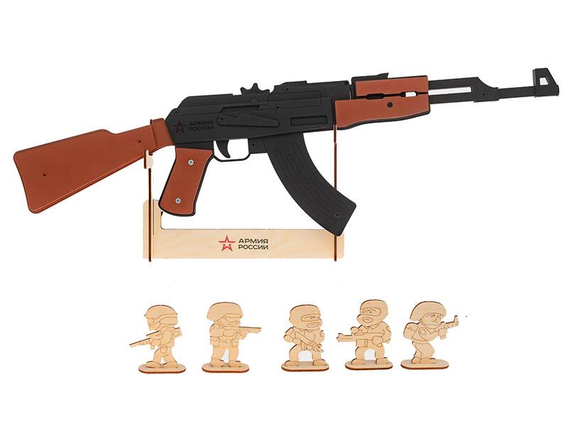Резинкострел Армия России Автомат АК-47 AR-P013