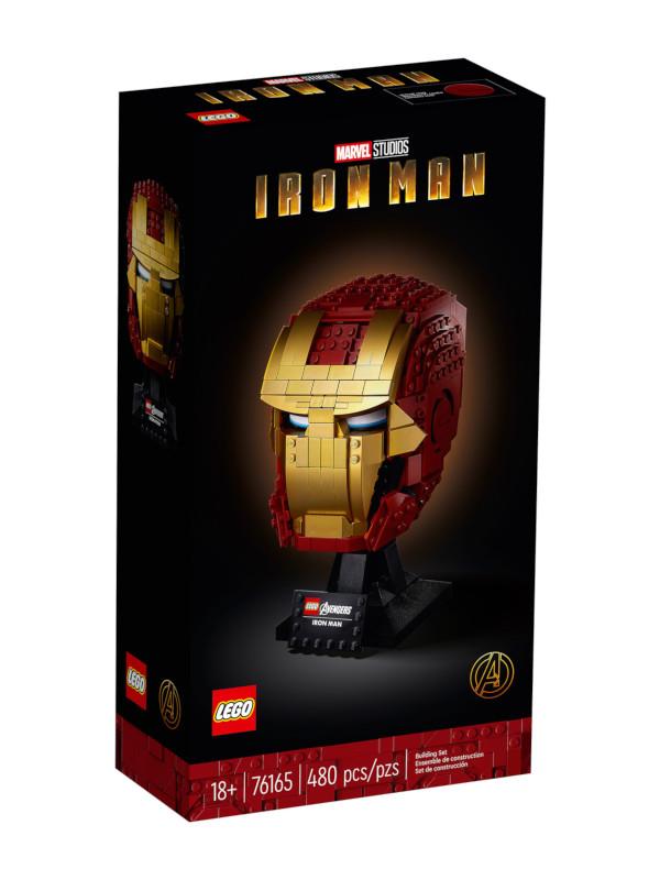 Lego Marvel Avengers Шлем Железного Человека 480 дет. 76165