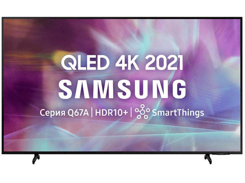 Фото - Телевизор QLED Samsung QE60Q65AAU 60 (2021) qled телевизор samsung qe55q60aau