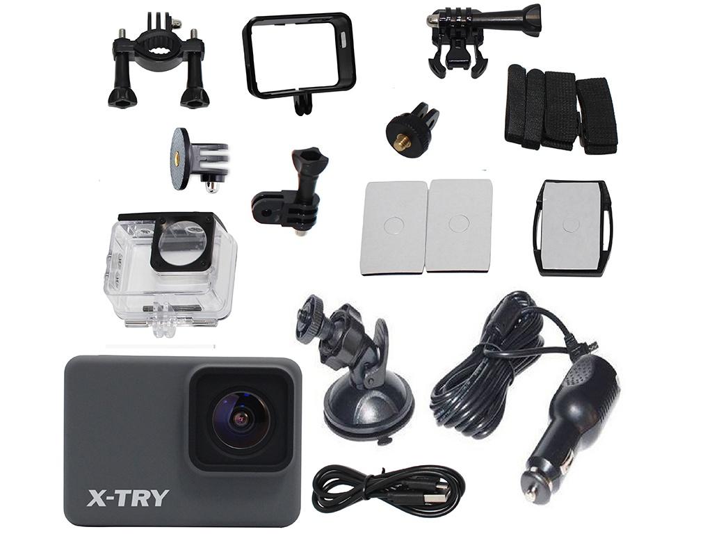 Фото - Экшн-камера X-TRY XTC261 Real 4K Wi-Fi Autokit экшн камера x try xtc262 real 4k wi fi power